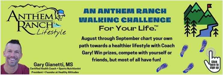 Anthem Walking Challenge with Healthy Altitudes