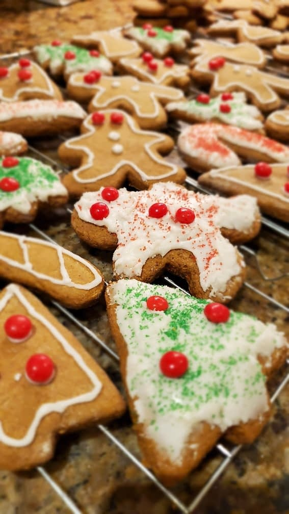 Simple and delicious gingerbread cookie recipe