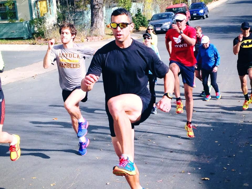 Gary Gianetti Run Coach in Group