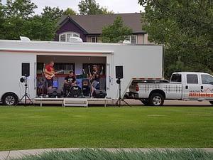 Rogue 2 Erie Colorado Movable Studio Stage Trailer