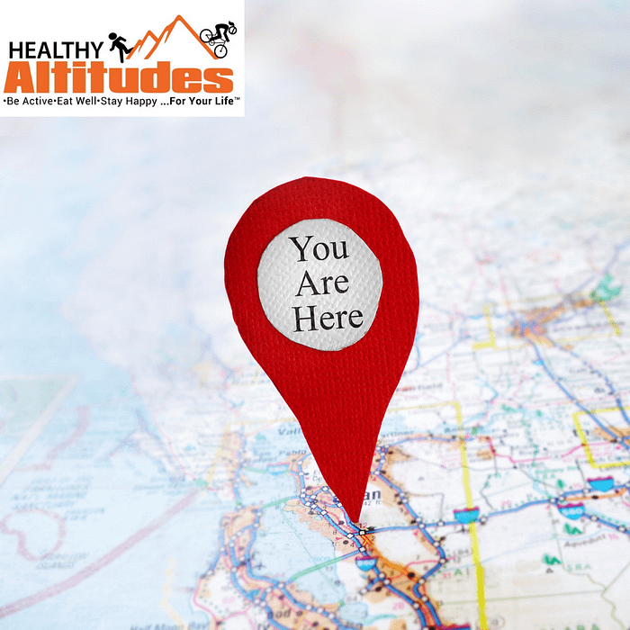 You Are Here - Goals To Go There