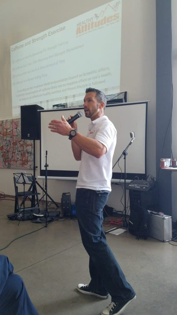 Gary Gianetti Wellness Speaker Personal Trainer Health Consulting For Companies and Communities