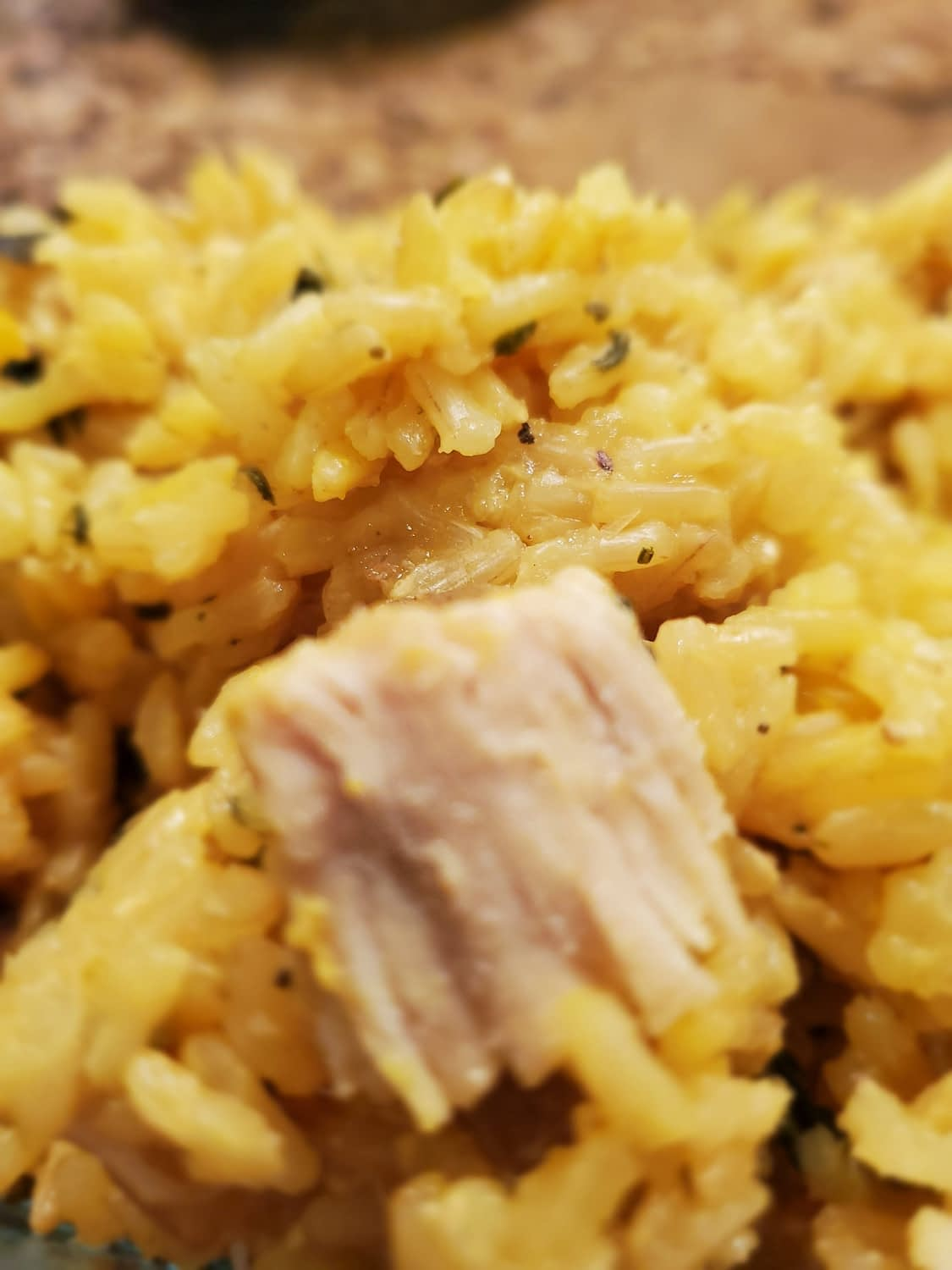 Saffron Rice and Chicken in an Instant Pot