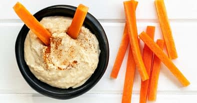 Homemade Hummus Featured Image