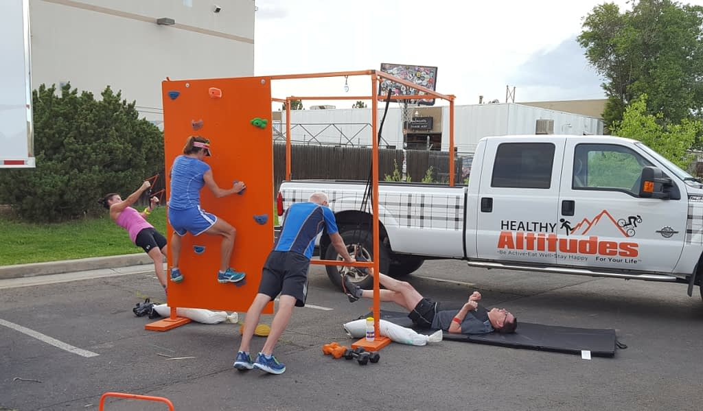 The Healthy Altitudes FitStop Mobile Fitness Delivered